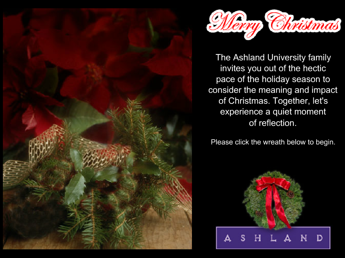 2005 Ashland University Christmas Ecard thumbnail