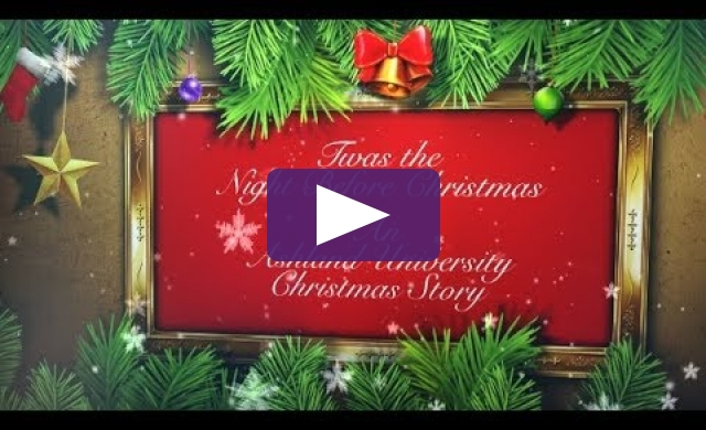 Ashland University 2017 Christmas E-Card