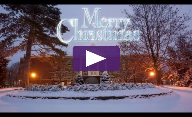 Ashland University Christmas E-Card 2015