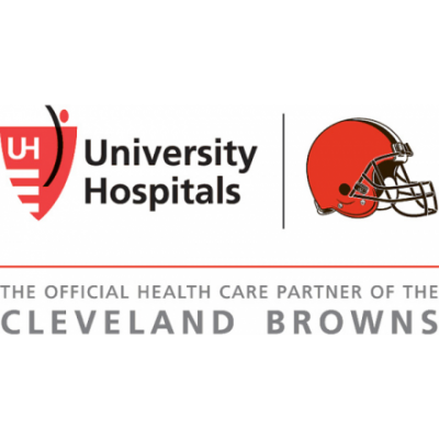 University Hospitals, The Official Health Care Partner of the Cleveland Browns