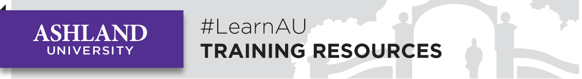 LearnAU Training Banner