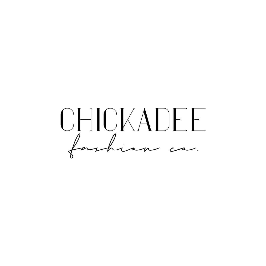 Chickadee Fashion Logo