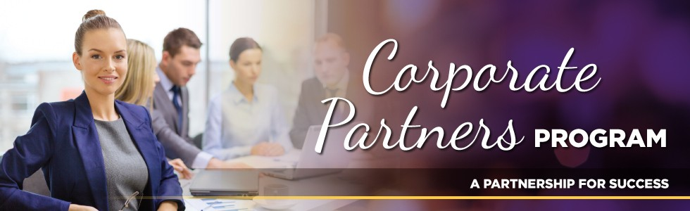 Corporate Partners Program web banner