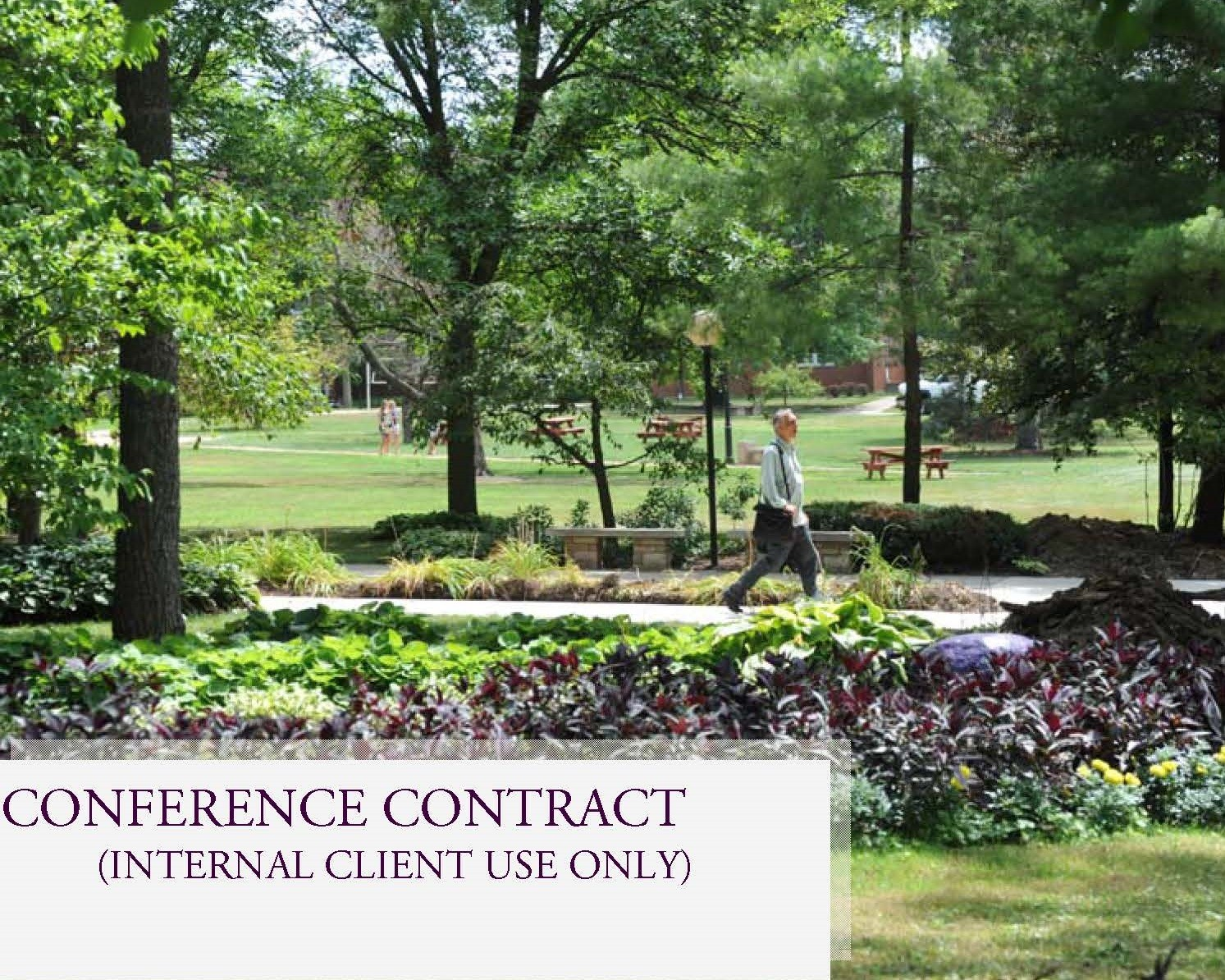 Internal Conference Contract