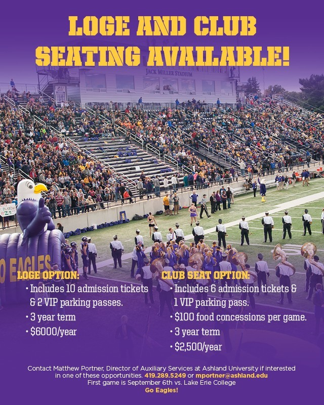 Loge and Club Seat Information