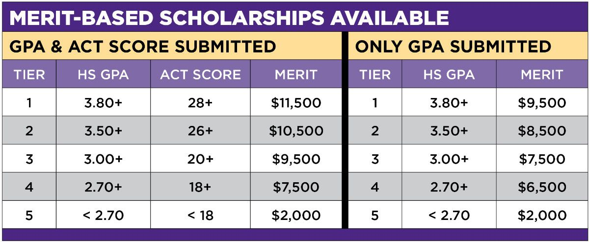 Merit-Based Scholarships Available