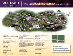 Ashland University Campus Map