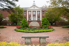 Photo of the front of Founders Hall