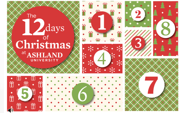 The Twelve Days of Christmas at Ashland University