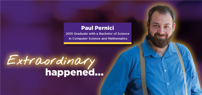 Paul Percini extraordinary story banner