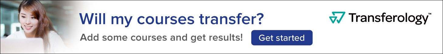 Transferology - see if your courses will transfer
