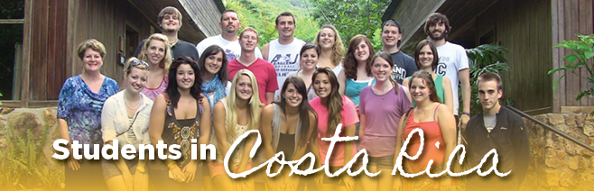 Students abroad in Costa Rica