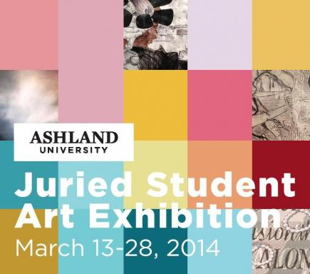 Juried Student Art Exhibition March 13-28