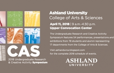 AU's 2018 Undergraduate Research and Creative Activity Symposium Set for April 11