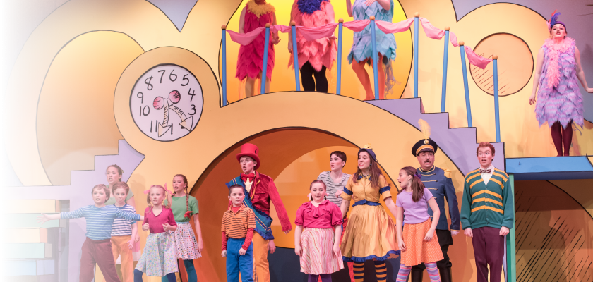 Scene from the Seusical Musical, February 2018