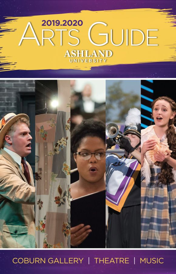 2019-2020 Arts Guide. Coburn Gallery, Music, Theatre