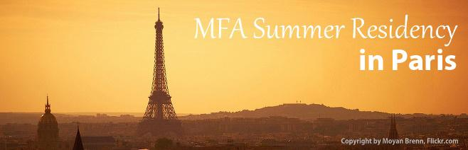 Ashland MFA in Creative Writing Paris Residency