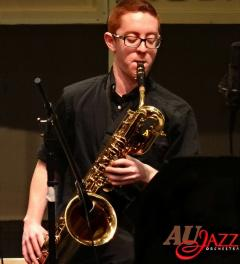 Shayne Smith, baritone sax