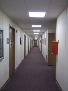 Philosophy Bixler Hall hallway offices
