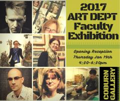 2017 Art Dept Faculty Ex