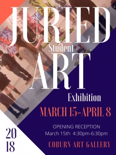 2018 Juried Student Art Ex