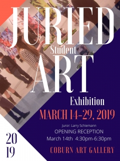 2019 AU Juried Student Art Design Exhibition