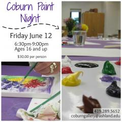 Coburn Paint Night