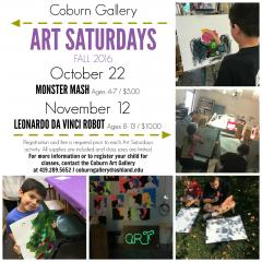 Art Saturdays fall 2016