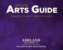 15-16 Arts Guide cover