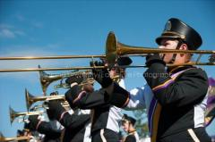 Marching Band trombones