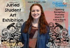 2016 Juried Student Art Exhibition