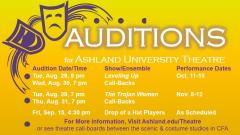 Fall 2017 Theatre Auditions