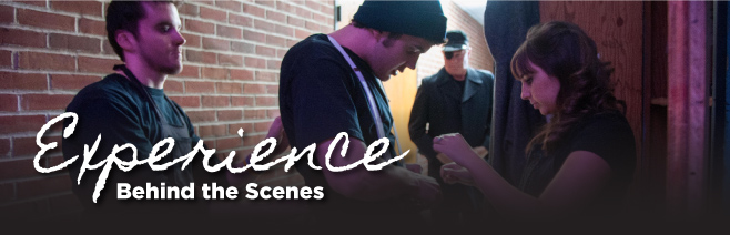 Experience Behind the Scences