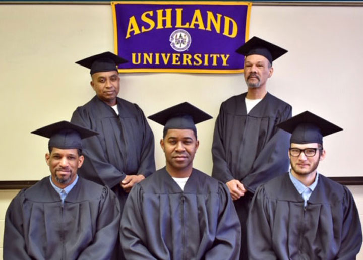 Ashland University Correctional Education graduates