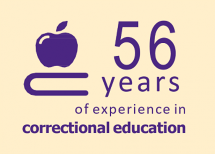 56 years of experience in correctional education
