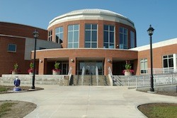 Photo of the entrance of the Rec Center