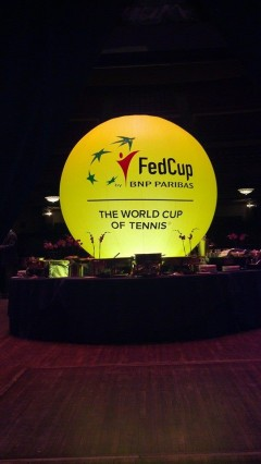 Students Work USTA's Fed Cup Event in Cleveland