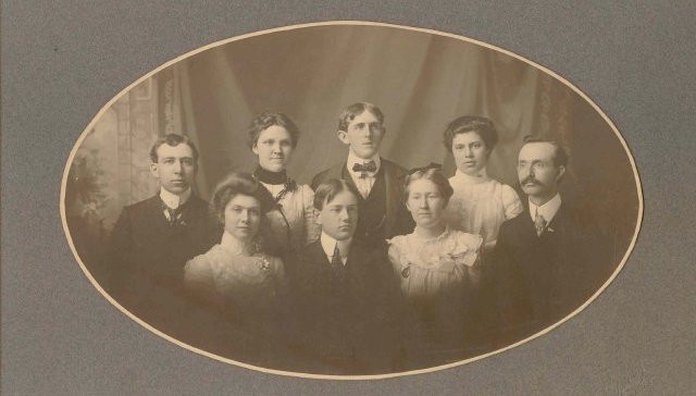 Image of the 1901 Ashland Normal School Graduating Class