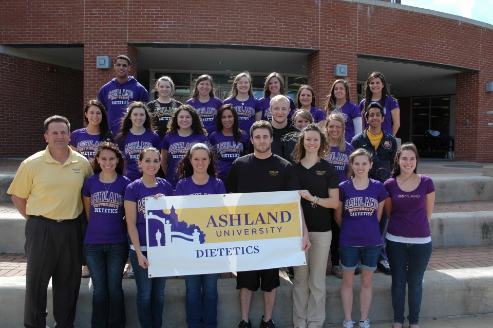Some of Our Dietetics Students Spring 2012
