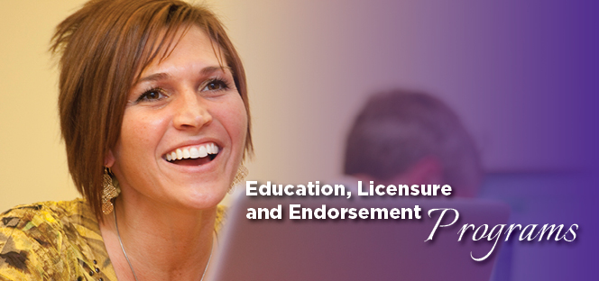 Ashland University Education licensure and Endorsement Programs