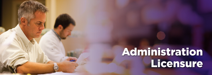 Banner image for Administrative and Professional Licensure at Ashland University.