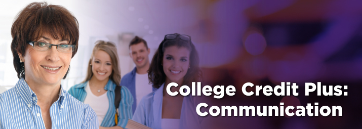 College Credit Plus for Teachers, Communications Track