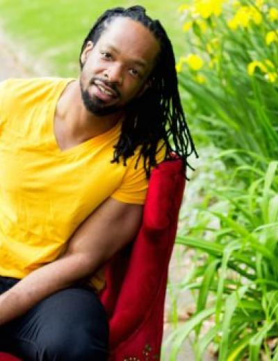 Jericho Brown, visiting writer in poetry