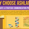 Why Choose Ashland's Corporate and Strategic Communications Program?