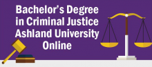 Bachelor's Degree in Criminal Justice Online - Ashland University