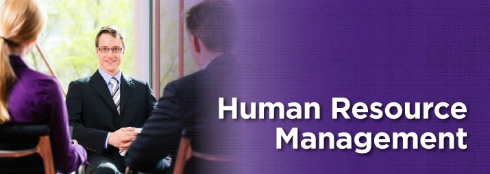 Human Resources Management web banner image