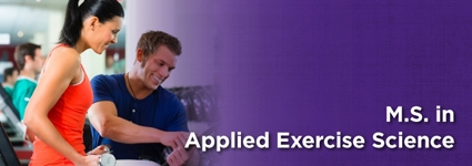 Masters of Science in Applied Exercise Science
