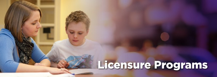 Banner image for Initial and Second Teacher Licensure programs at Ashland University.
