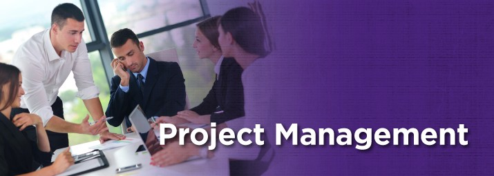 Project Management web banner image