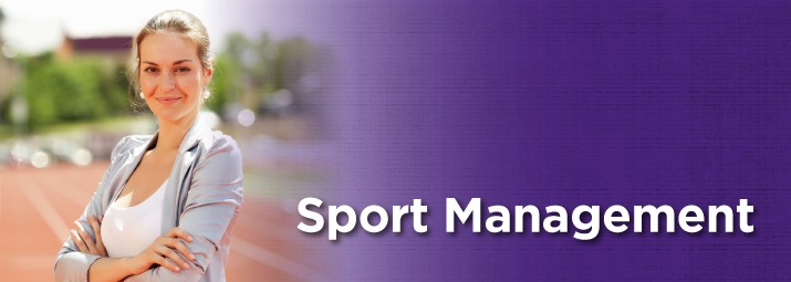 Sport Management web banner image